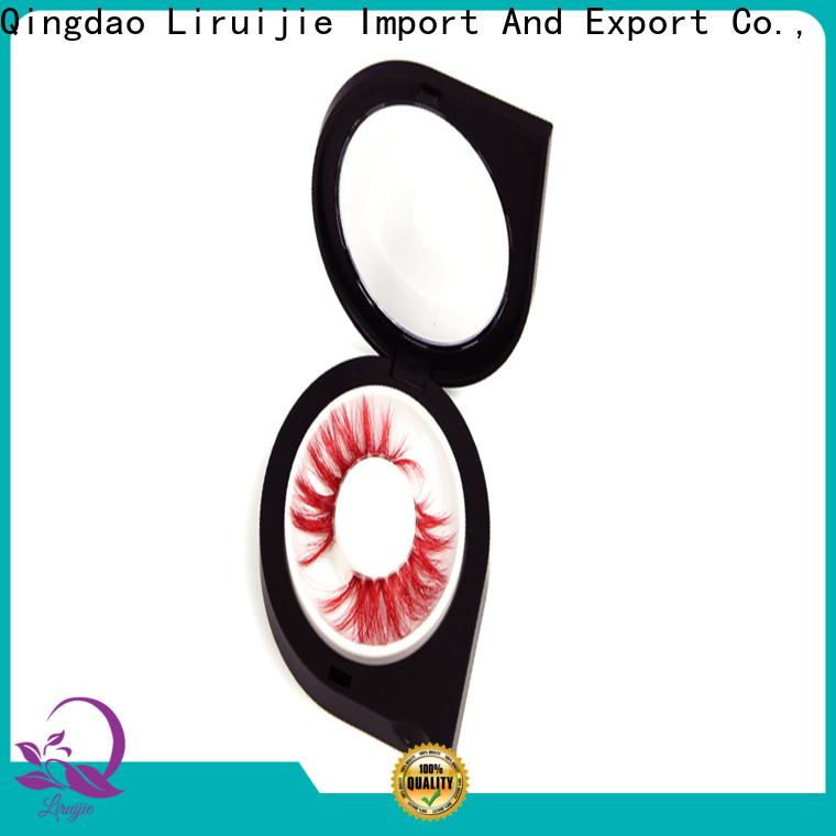 Liruijie mink eyelash packaging supplies for business for magnetic eyelashes