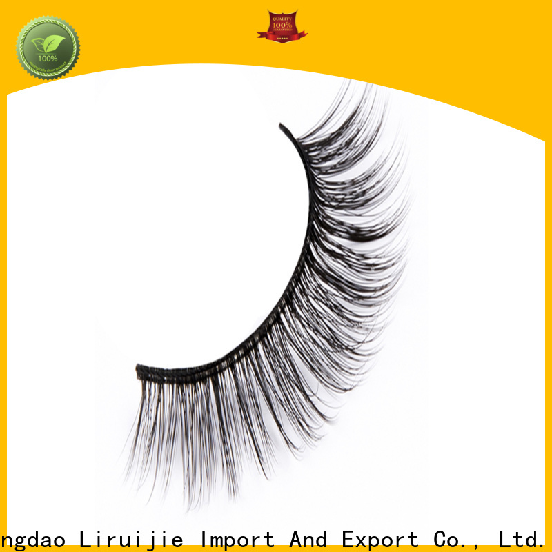 Liruijie Best synthetic false lashes supply for beginners
