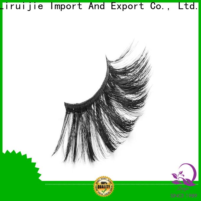 Liruijie eyelash faux mink synthetic eyelashes supply for beginners