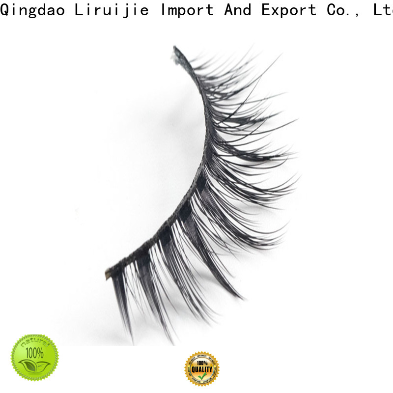 Liruijie Wholesale synthetic eyelash suppliers suppliers for round eyes
