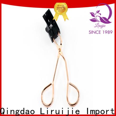 Liruijie individual no no heated eyelash curler factory for beginners