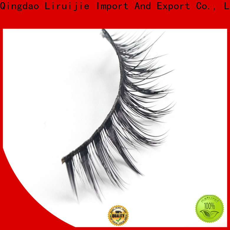 Liruijie false synthetic eyelash wholesale company for beginners