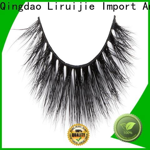 Liruijie eyelash mink lash extensions cost factory for sensitive eyes