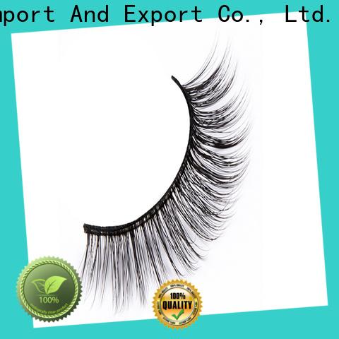 Latest synthetic eyelashes wholesale fluffy supply for round eyes
