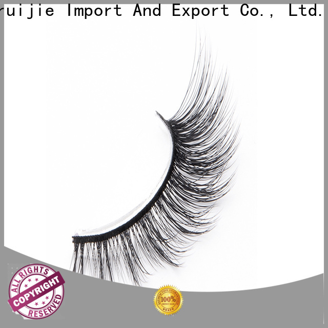 New synthetic eyelash suppliers magnetic for business for round eyes
