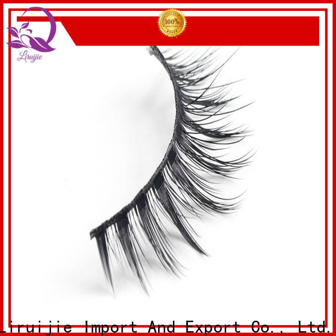 Liruijie chemical synthetic eyelashes manufacturers manufacturers for almond eyes