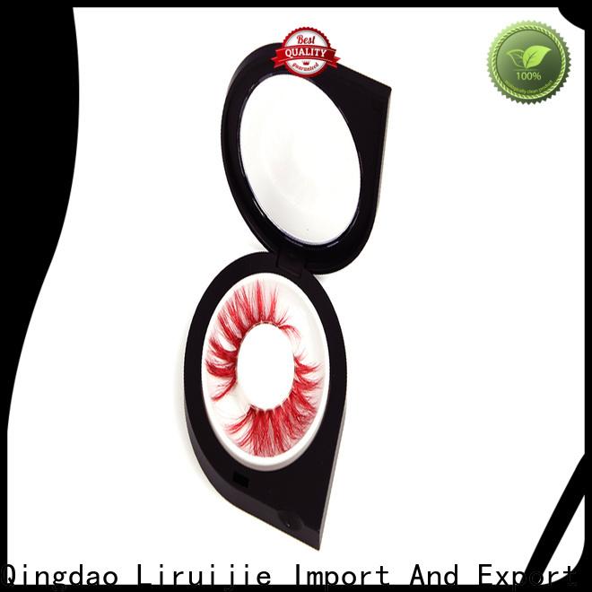 Liruijie box eyelash wholesale distributor factory for mink eyelashes