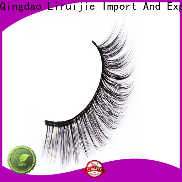 Custom synthetic false eyelashes wave suppliers for beginners