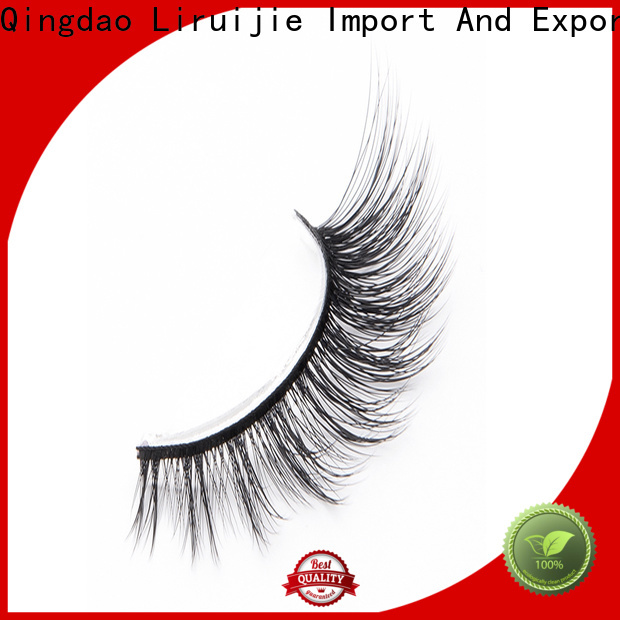 Liruijie Best faux mink synthetic eyelashes manufacturers for Asian eyes