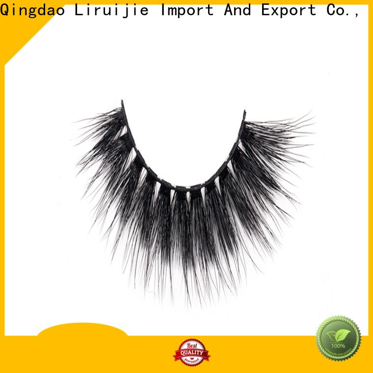 Liruijie Custom fashion eyelashes wholesale for business for round eyes