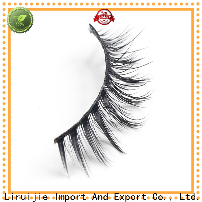 Liruijie Latest synthetic eyelash suppliers factory for almond eyes