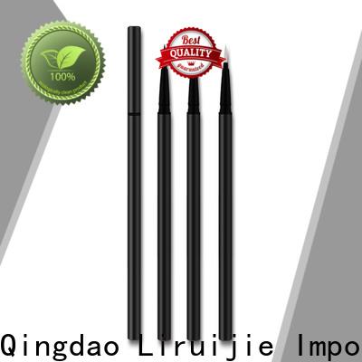 Liruijie pen jet black eyeliner company for round eyes