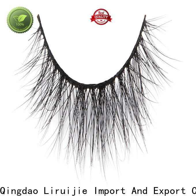 Custom silk and mink lashes series for business for small eyes