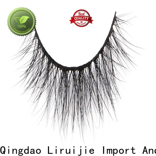 Liruijie New 100 mink fur lashes supply for sensitive eyes