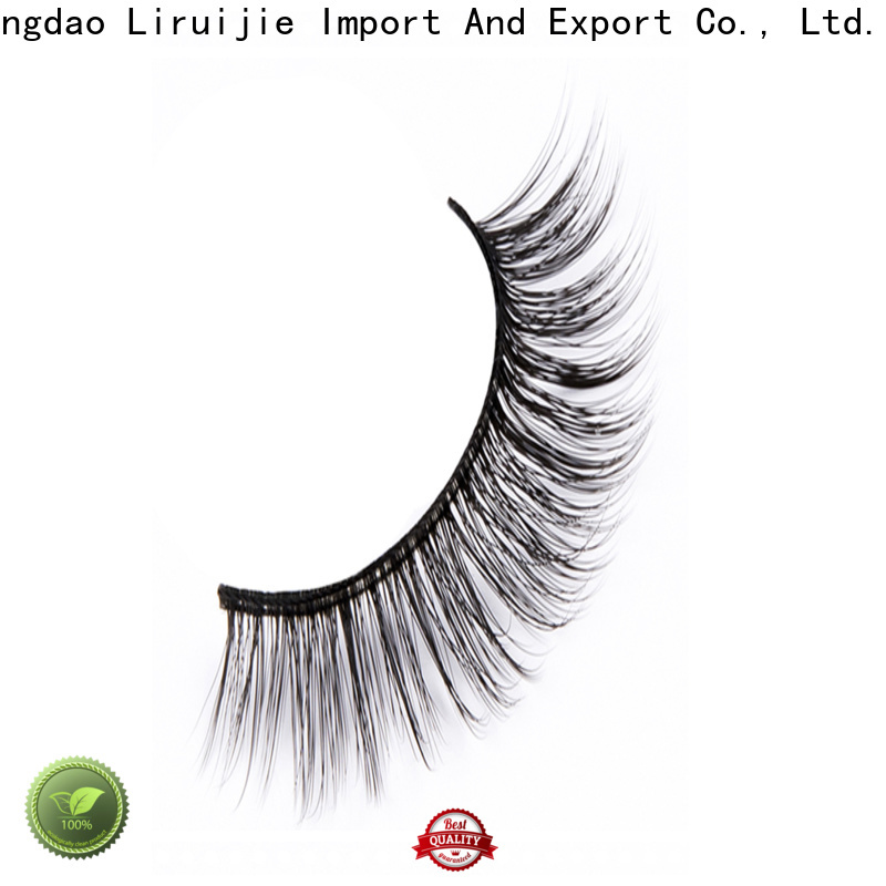 Liruijie series synthetic lashes company for round eyes