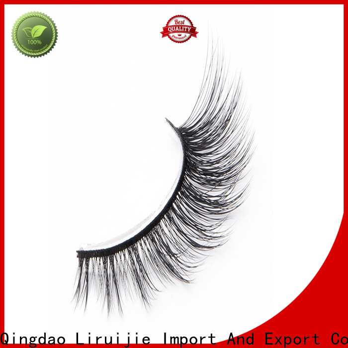Liruijie chemical synthetic magnetic eyelashes company for beginners