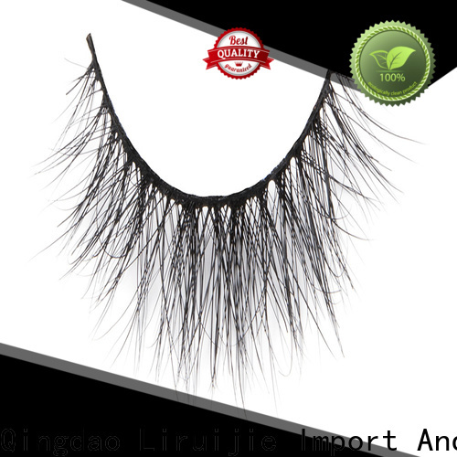 High-quality mink lashes canada fake manufacturers for sensitive eyes