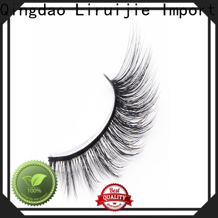 Liruijie mink false eyelashes wholesale factory for Asian eyes