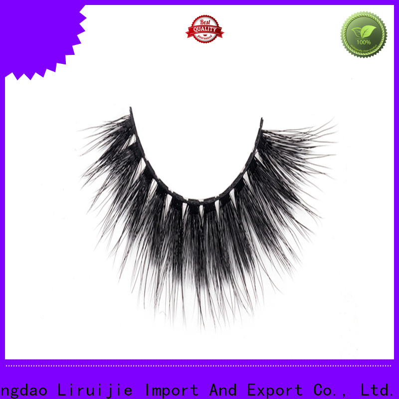 Liruijie synthetic synthetic eyelashes wholesale company for almond eyes