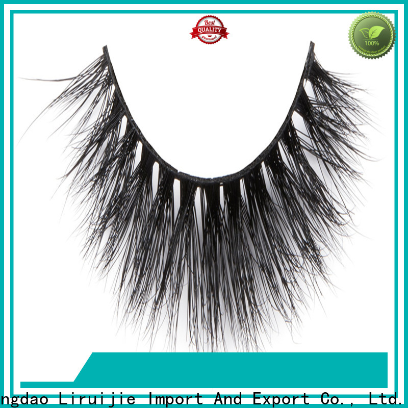 Liruijie Latest semi permanent mink eyelashes manufacturers for sensitive eyes