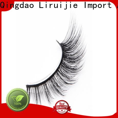 Liruijie costeffective 3d synthetic lashes suppliers for almond eyes