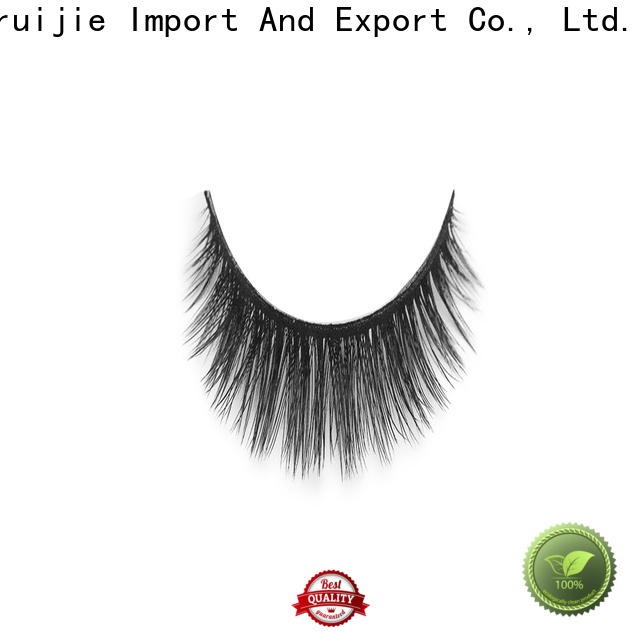 Liruijie synthetic wholesale individual lashes company for Asian eyes