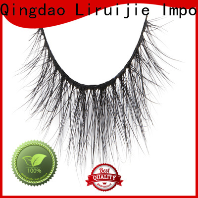 Liruijie fake mink lash extensions suppliers factory for small eyes