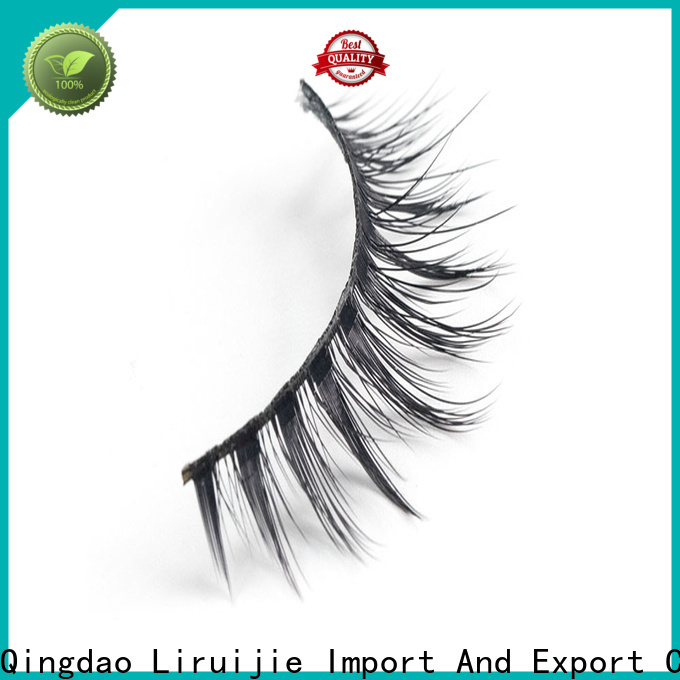 Liruijie New synthetic eyelash wholesale supply for almond eyes