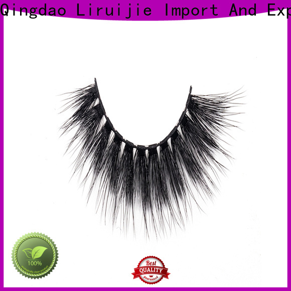 Liruijie lashes synthetic false lashes manufacturers for Asian eyes