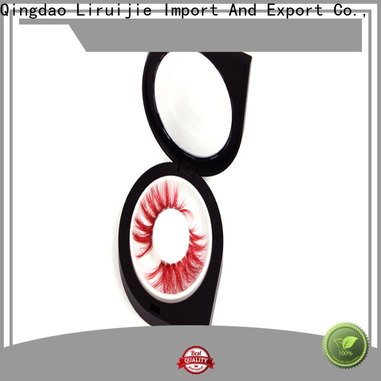 Liruijie eyelash lash storage box manufacturers for mink eyelashes