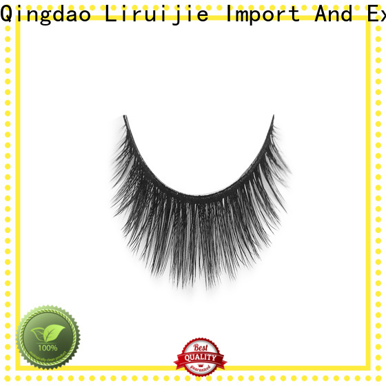 Liruijie costeffective synthetic false lashes factory for beginners