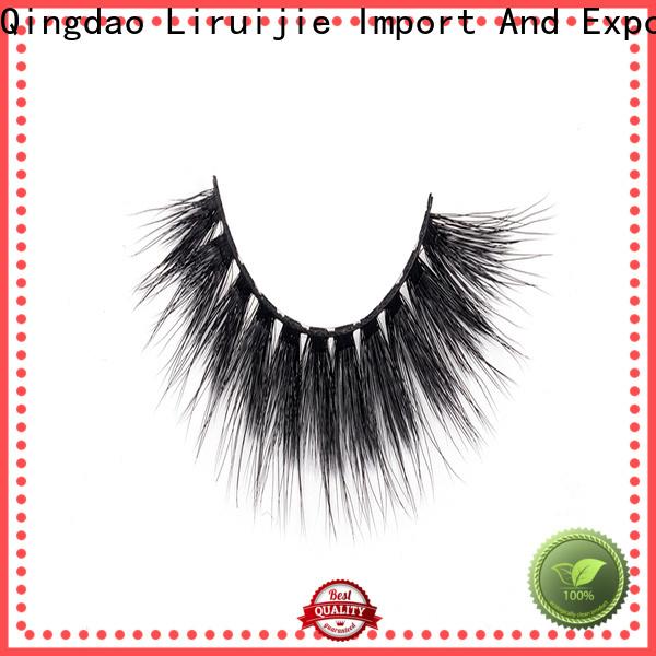 Liruijie lashes synthetic eyelashes wholesale company for round eyes