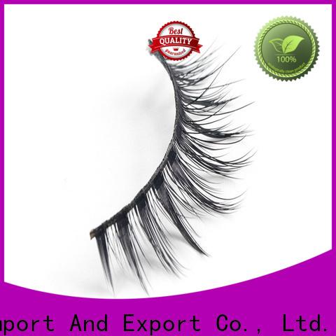 Custom good false eyelashes flower manufacturers for round eyes