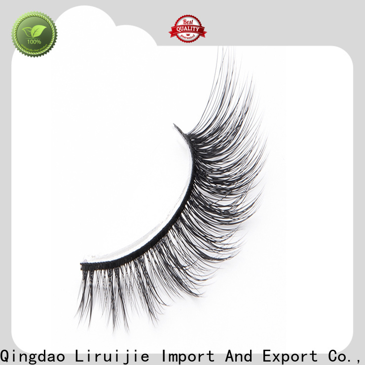 Liruijie false synthetic eyelash suppliers manufacturers for Asian eyes
