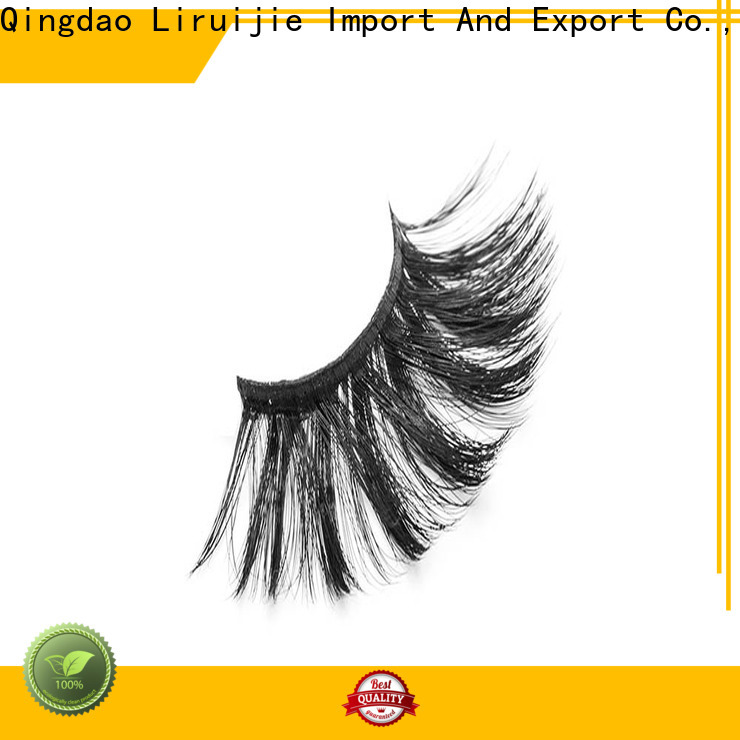 Liruijie series synthetic eyelashes manufacturers supply for almond eyes