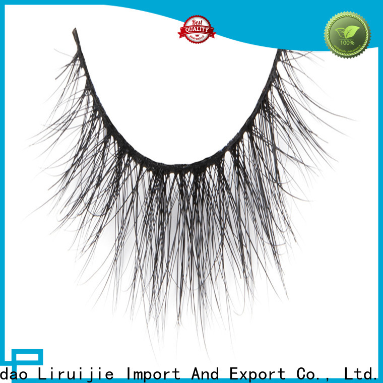 Liruijie Best 3d mink eyelashes suppliers for sensitive eyes