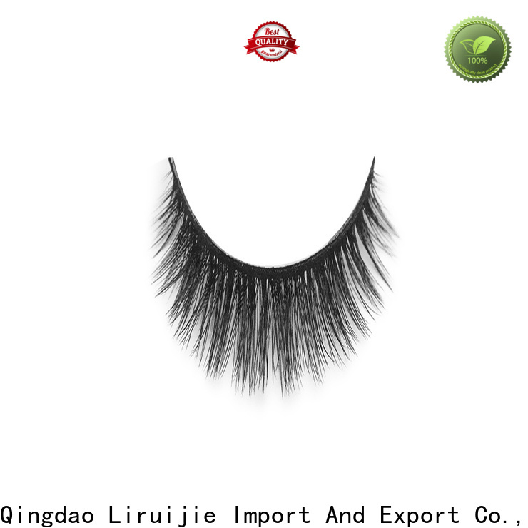 Liruijie series best synthetic lashes factory for almond eyes