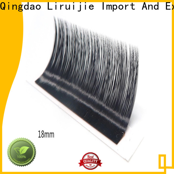 Liruijie real wholesale silk eyelashes supply for beginners