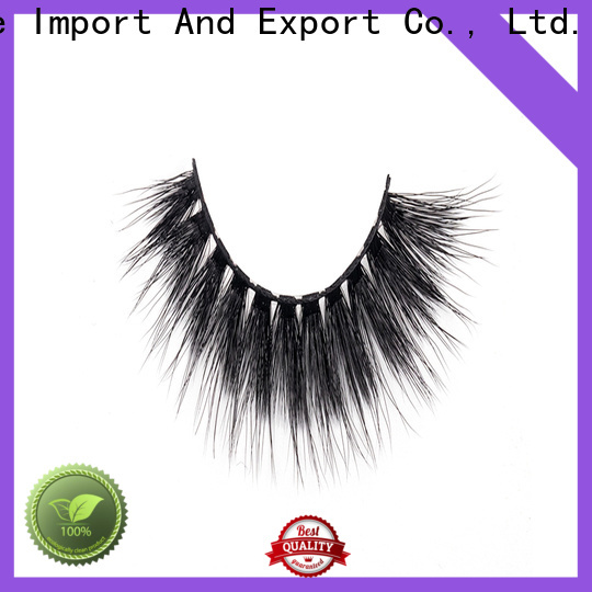 Custom synthetic eyelashes wholesale 3d company for beginners