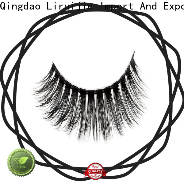 Wholesale fashion eyelashes wholesale synthetic factory for almond eyes