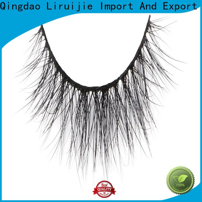 Liruijie fluffy long mink lashes company for beginners