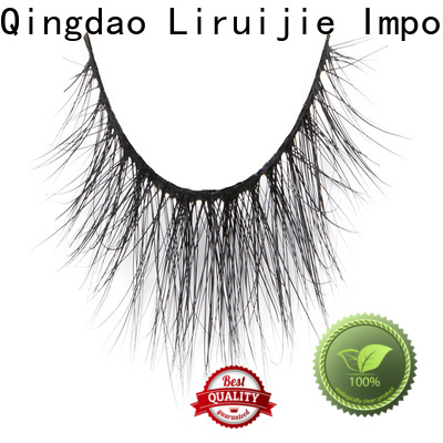 Liruijie fake eyelash extensions mink lashes manufacturers for small eyes