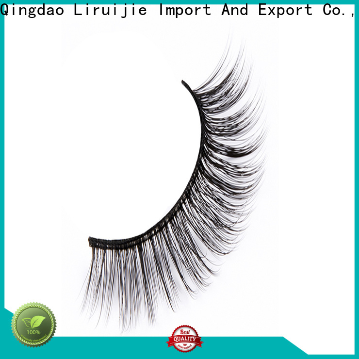 Liruijie mink synthetic lashes supply for beginners