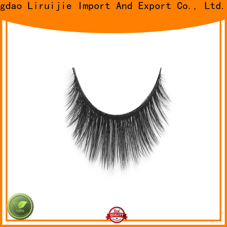 Liruijie deep synthetic silk lashes company for round eyes