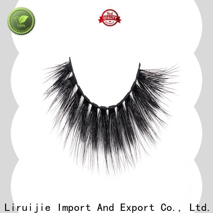 Liruijie eyelash best synthetic lashes factory for round eyes