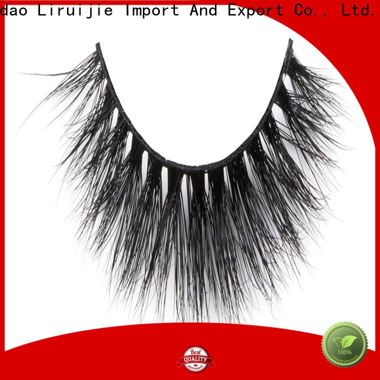 Liruijie lashes best mink lashes brand supply for sensitive eyes