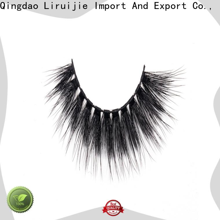 Liruijie fiber good false eyelashes for business for round eyes