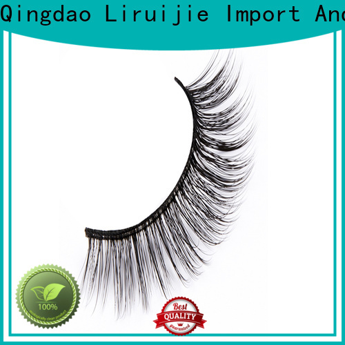 Liruijie fluffy good cheap eyelashes company for beginners