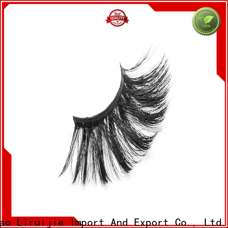Liruijie thick wholesale individual lashes factory for almond eyes