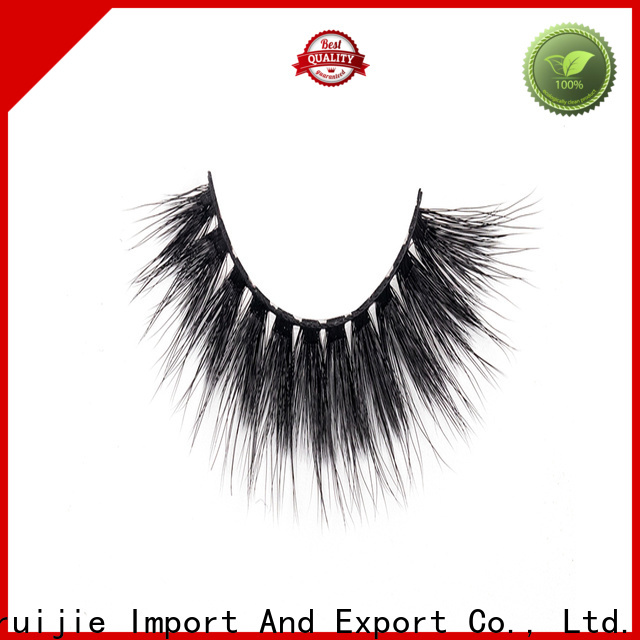 Liruijie false synthetic eyelash factory for almond eyes